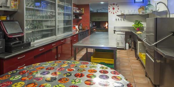 La cuina Can Mascort, restaurant, ctra. dels Àngels